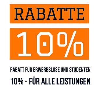 Rabatte Türöffnung Linden